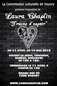 Prochaine exposition de Laura Chaplin, marraine de la fondation.